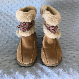 Cherokee toddler girls size 9 boots